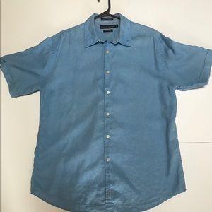 Tommy Hilfiger Men's  L Shirt Pure Linen